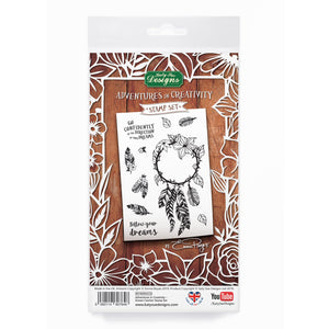 Adventures in Creativity  - Dream Catcher Stamp Set