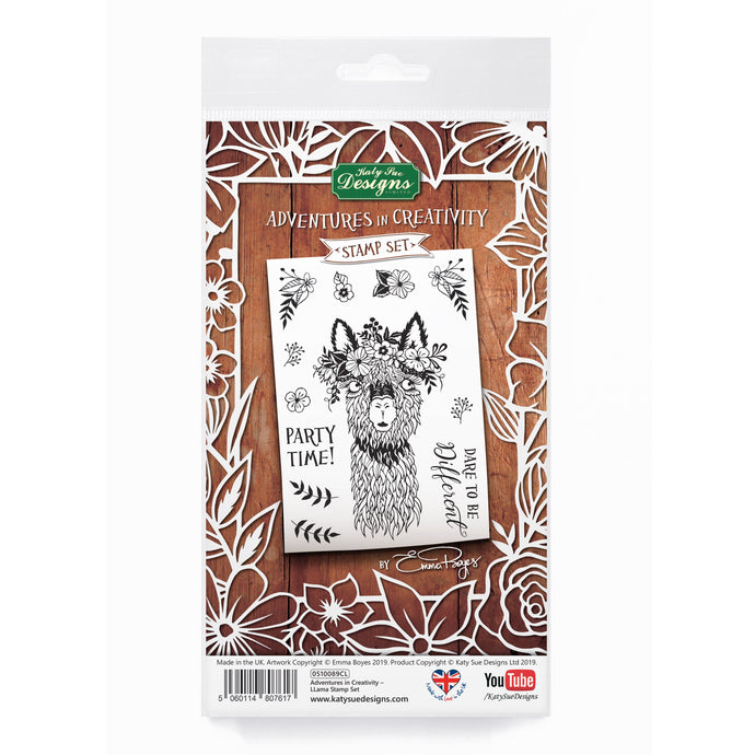 Adventures in Creativity - Llama Stamp Set
