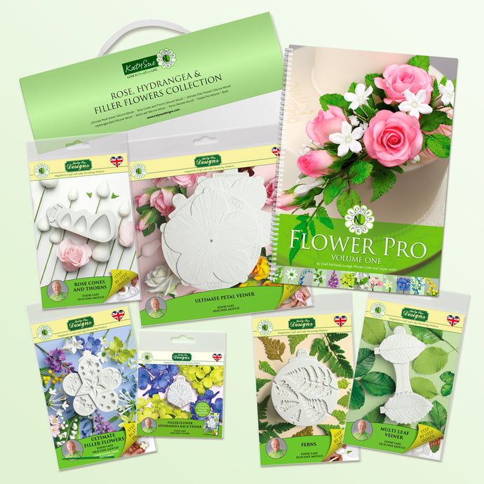 Flower Pro Rose, Hydrangea & Filler Flowers Collection