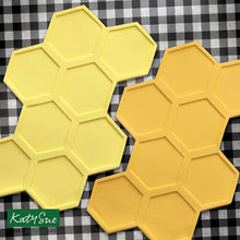 C&D - Large Continuous Honeycomb Silicone Mold Design Mat