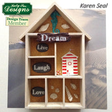 C - An idea using the Dream Driftwood and Word Stones Mould