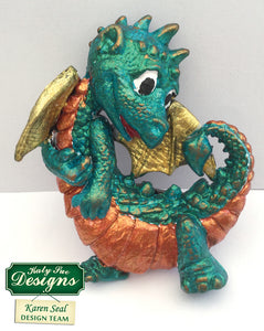 C - Little Dragon Cake Mold