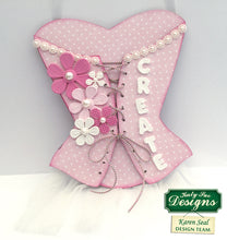 C - Craft Stitched Flowers Mold