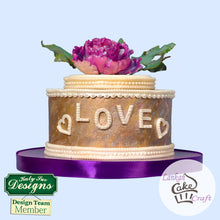 LOVE Letters Silicone Mould - Katy Sue Designs US