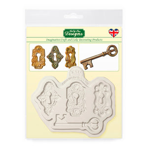 C&D - Cake Decorating Locks and Key Mold