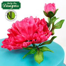 CD - Cake Idea using the Flower Pro Peony Leaves Mold