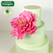 CD - Cake Idea using the Peony / Tulip Mold and Veiner