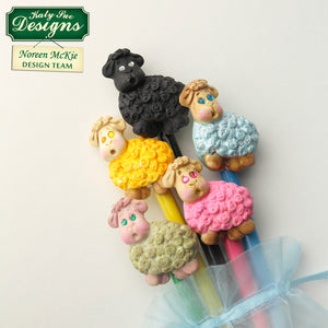 C - An idea using the Lamb Sugar Buttons Silicone Mould product