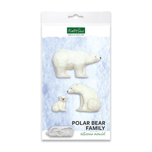 C&D - Polar Bear Silicone Mold