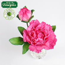 C&D - Cake Idea using the Flower Pro Peony Leaves Mold
