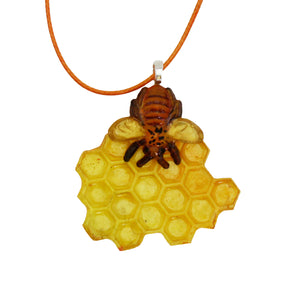 C - Honeycomb and Bees Silicone Mold