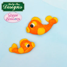 C&D - An idea using the Crab and Fish Sugar Buttons Mold