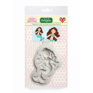 C&D - An idea using the Little Mermaid Sugar Buttons Mold