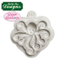 C&D - An idea using the Octopus Sugar Buttons Mold