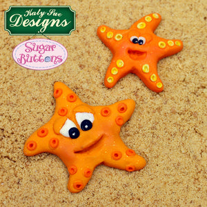 C&D - An idea using the Starfish and Seahorse Sugar Buttons Mold