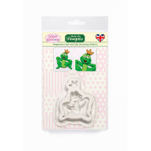 C&D - Frog Prince Sugar Buttons Silicone Mold pack shot