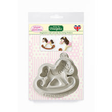 C&D - Rocking Horse Sugar Buttons Silicone Mold pack shot