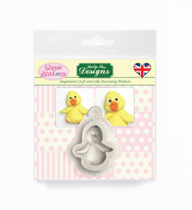 Baby Chick Sugar Buttons Silicone Mold