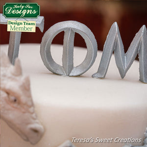 CD - Iron Alphabet Cake Mold
