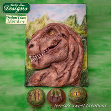 CD - Dragon Dinosaur Cake Decorating Skin Mold