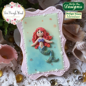 CD - An idea using the Little Mermaid Sugar Buttons Mold