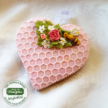CD - Honeycomb and Bees Silicone Mold