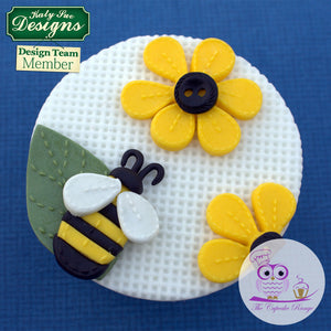 CD - Cake Decorating Stitched Flowers Mold
