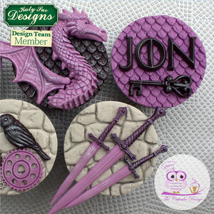 CD - Dragon Scales Cake Mold