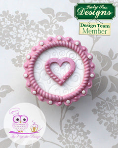 Rope and Pearl Borders Silicone Mould