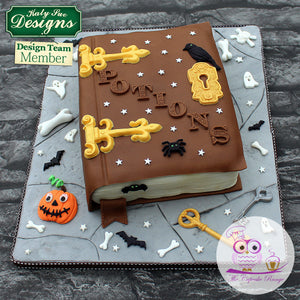 CD - Hinges & Screws Cake Decorating Mold