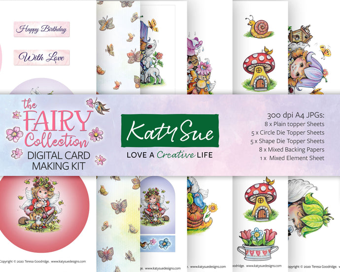 The Fairy Collection | Digital Card Making Kit