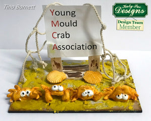 C - An idea using the Crab and Fish Sugar Buttons Mould