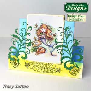 C - An idea using the Mermaid Birthday Stamps