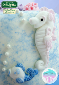 CD - An idea using the Starfish and Seahorse Sugar Buttons Mold