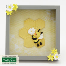 C - Large Continuous Honeycomb Silicone Mold Design Mat