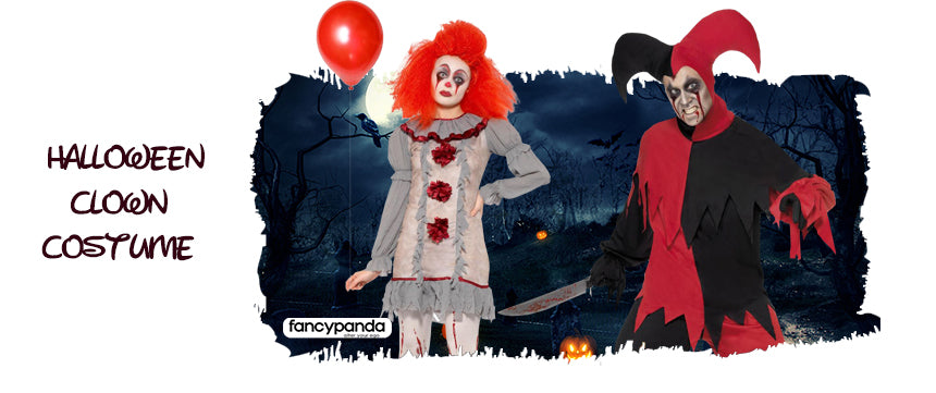 Halloween Scary Clown costumes