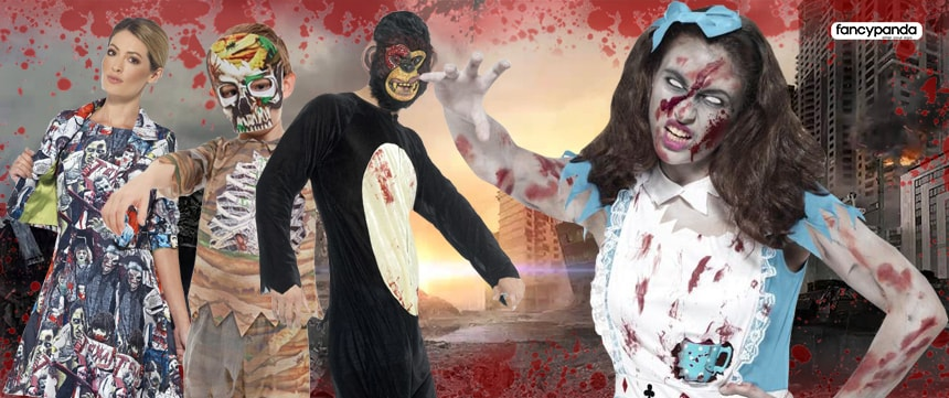 halloween zombies fancy dress