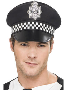Police Panda Cap | Fancy Dress Accessory