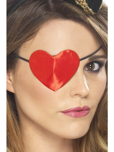 Pirate Heart Shaped Eyepatch