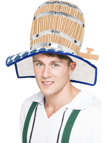 Oktoberfest Beer Barrel Hat