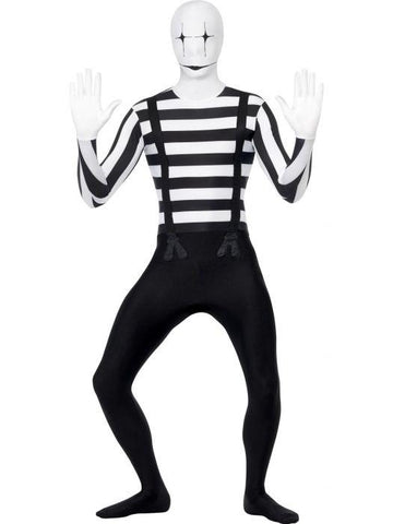 Mime Second Skin Costume