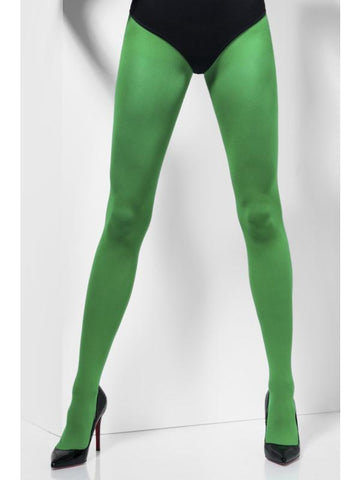 Women's Opaque Tights Green