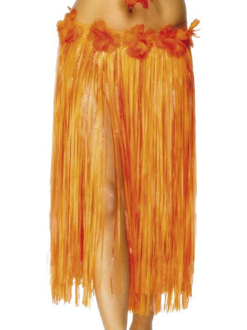 Women's Hawaiian Hula Skirt Orange