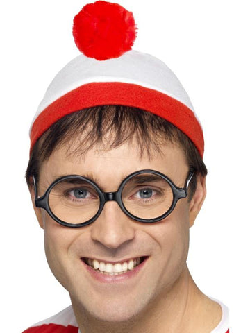 Men's Where's Wally? Instant Kit Red & White