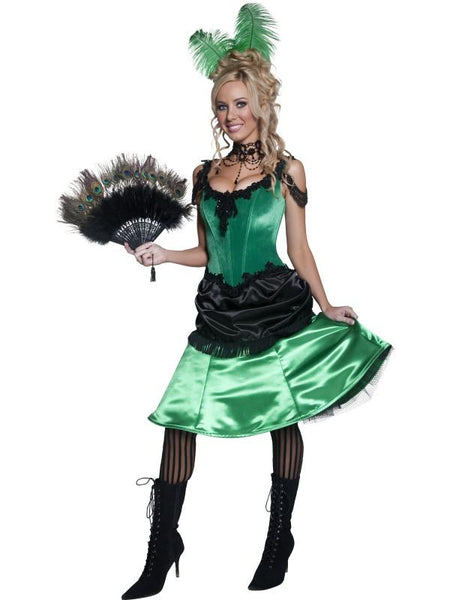 Authentic Western Saloon Girl Costume