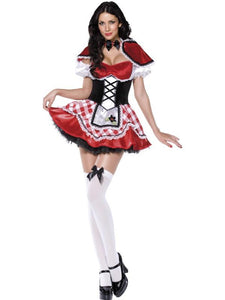 Fever Deluxe Red Riding Hood Costume