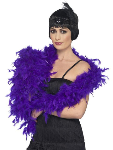 Women's Deluxe Boa Purple