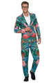 Men's Hawaiian Tropical Flamingo Suit