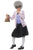 Girl's David Walliams Deluxe Gangsta Granny Fancy Dress Costume