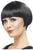 Women's 20s Flapper Bob Wig Black